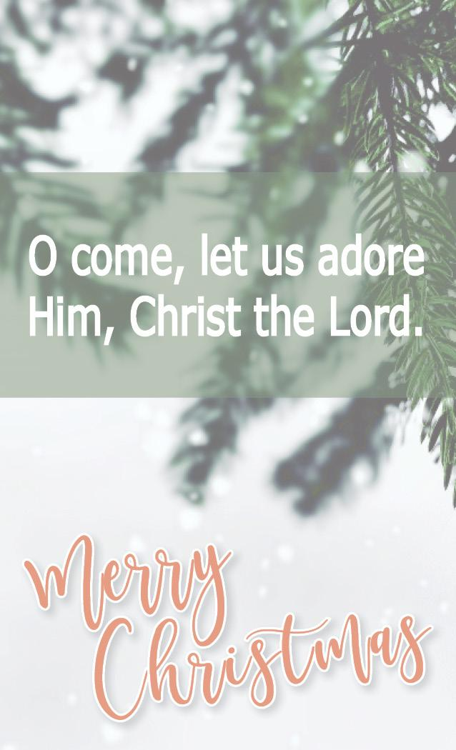 Merry Christmas from CBMC STL