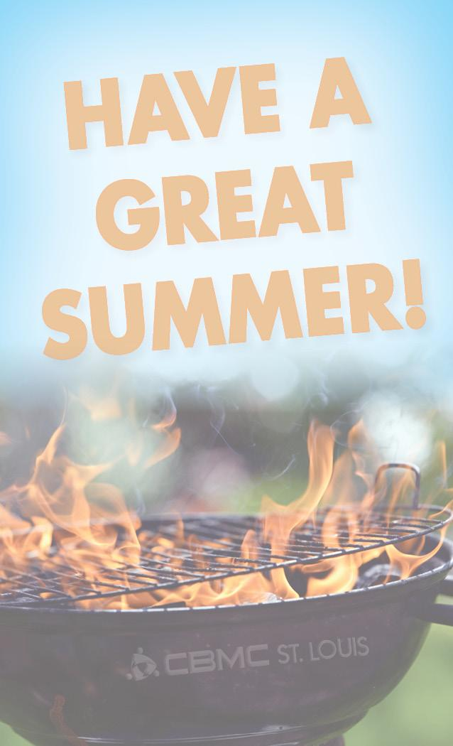 happy summer from CBMC STL