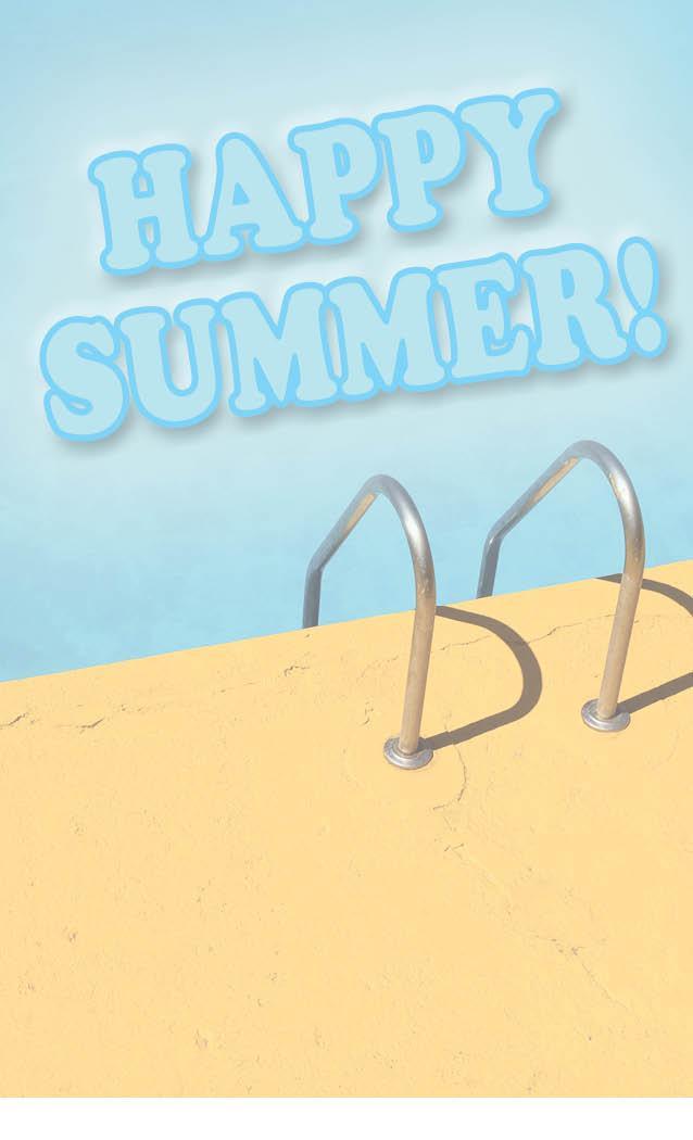 happy summer pool image