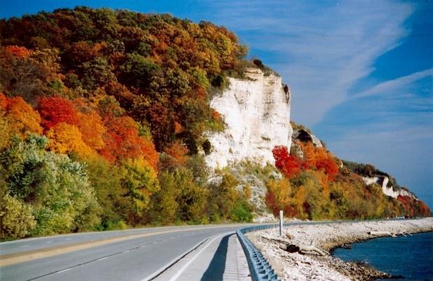 open fall road